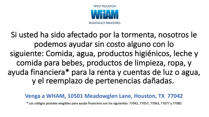 spanish wham wants to help